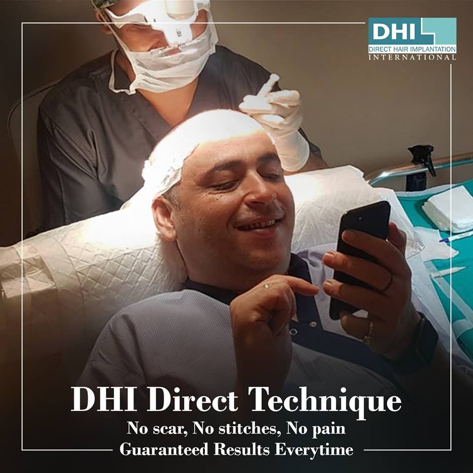 DHI Direct technique